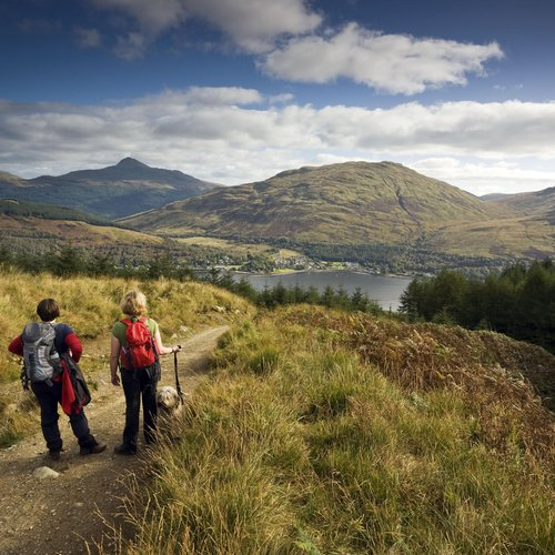 1097182hiking  loch lomond and the trossachs national park