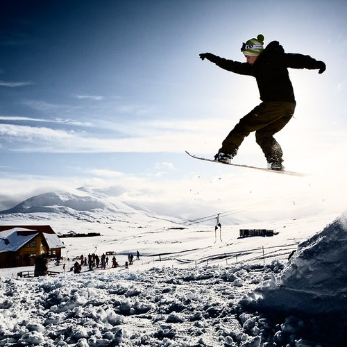 Skiers and snowboarders - Iceland Tour Packages from India