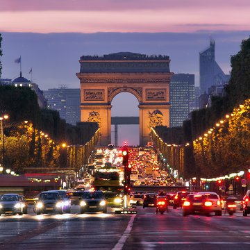 arc de triomphe paris (header) - Europe Holiday Packages from India
