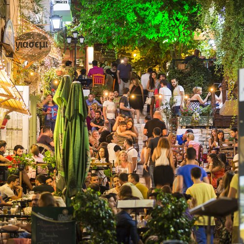 Athens Market - Greece Travel Packages from India