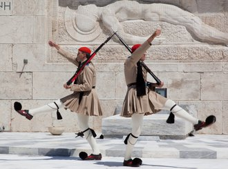 Changing of the Guard - Greece Honeymoon Packages from India