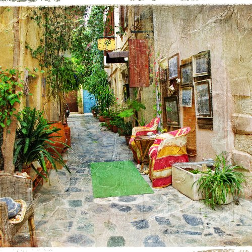Charming Streets of Greek Islands - Crete - Greece Travel Packages from India