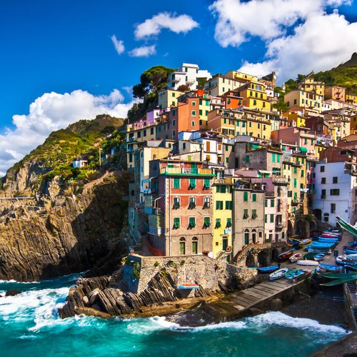 Cinque Terre - Italy Honeymoon Packages from India