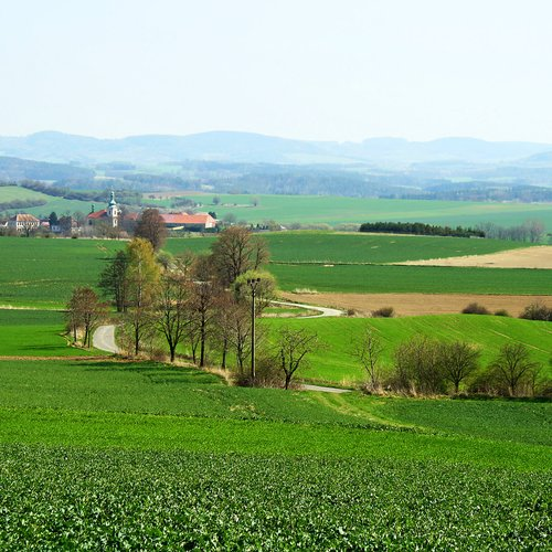 czech spring countryside