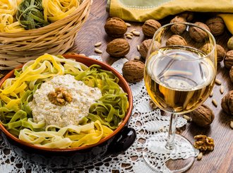 Food - Italy Honeymoon Packages from India