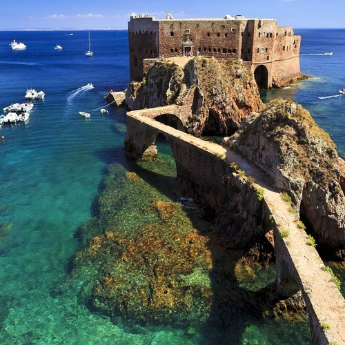 fort of st john the baptist in berlenga island, portuga