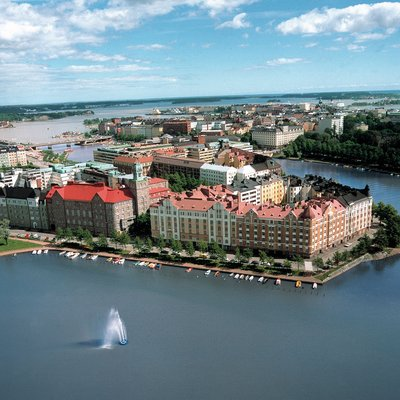 Helsinki Aerial - Finland Tour Packages