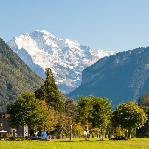 interlaken, switzerland (header) - Europe Honeymoon Packages from India