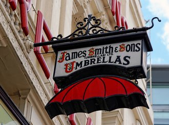 james smith and sons umbrella shop