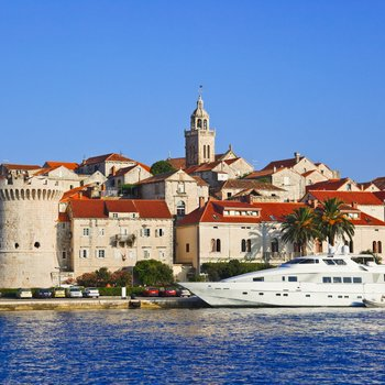 korcula at croatia