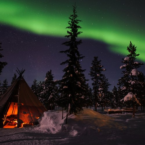 Lola Akinmade Akerstrom Northern Lights - Scandinavia Tours