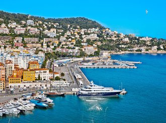 port of nice. france. seascape. summer da - European tour packages