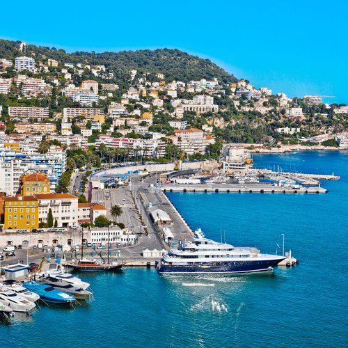 port of nice. france. seascape. summer da