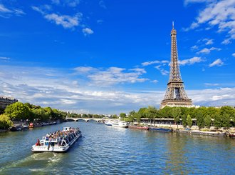 ride the bateau mouche, paris (river cruise )