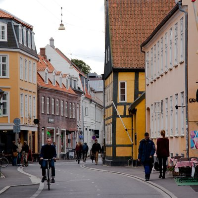 Street in Aarhus East Jutland - Denmark tour Packages