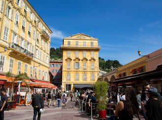 the cours saleya, nice