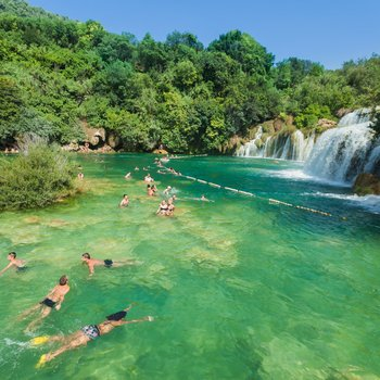 the krka national park