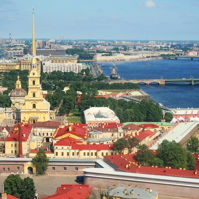 the peter and paul fortress, st.petersburg