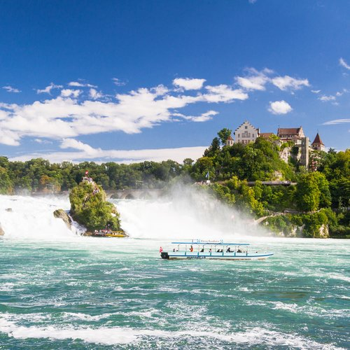 The Rhine Falls in Schaffhausen - Switzerland Travel Packages