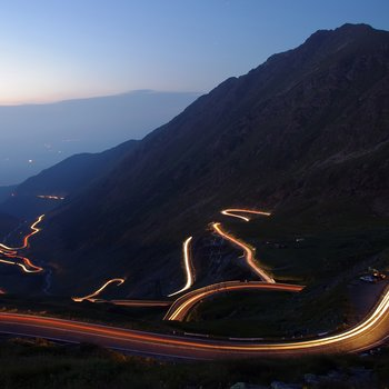 the transfagarasan road romania