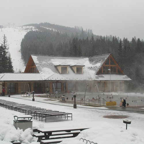 thermal spa in the mountains slovakia