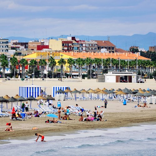 Valencia Beaches - Spain and Portugal Tours Packages