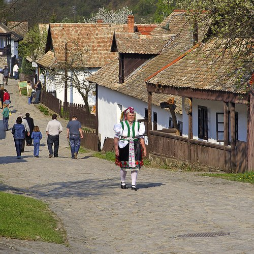 Women in Folk Costume in the Village during the Traditional Easter Festival - East European Tour Packages